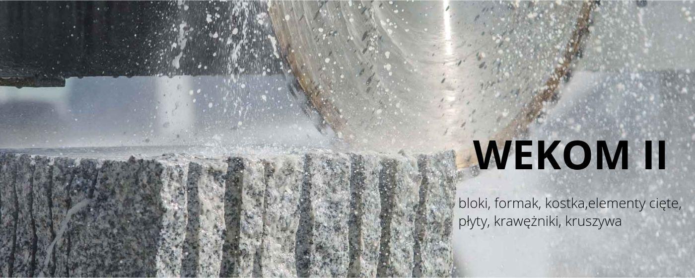 Petra Bud Kostrza w Strzegom:  płyty granitowe, kostka granitowa, krawężniki granitowe, stopnie schodowe, architektura ogrodowa, oflisy, odpady granitowe, oporniki granitowe
